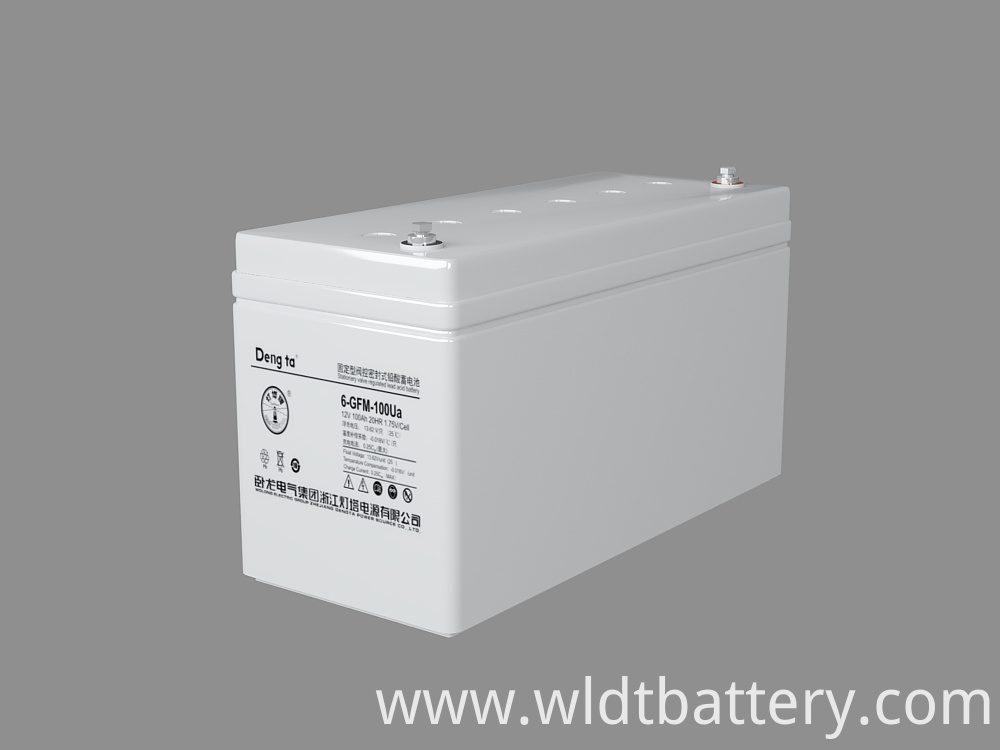 Uninterruptible Power System, UPS Solution VRLA Battery, 12V 100Ah Lead Acid Battery