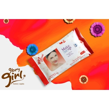 Individual non woven wet wipes