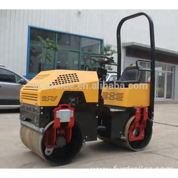 price ! vibratory roller 1ton ride on tandem drum road rollers(FYL-880)