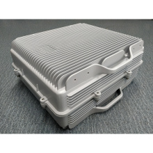 Die-casted aluminum repeater box enclosures