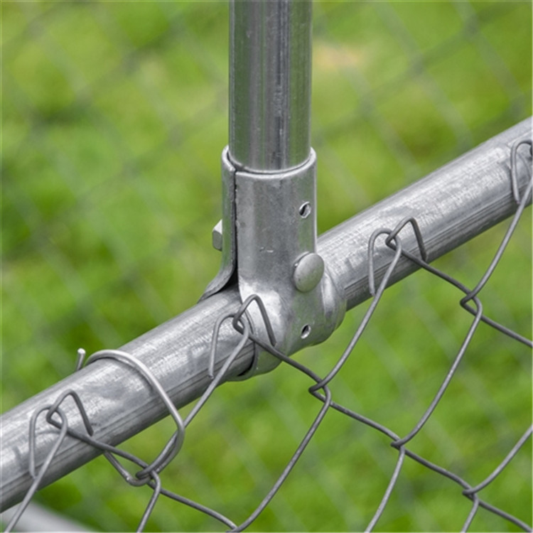 2 rail diamond vinyl fence