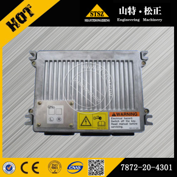 Machinery Spare Parts PC400-7 enginer fuel controller 7872-20-4301