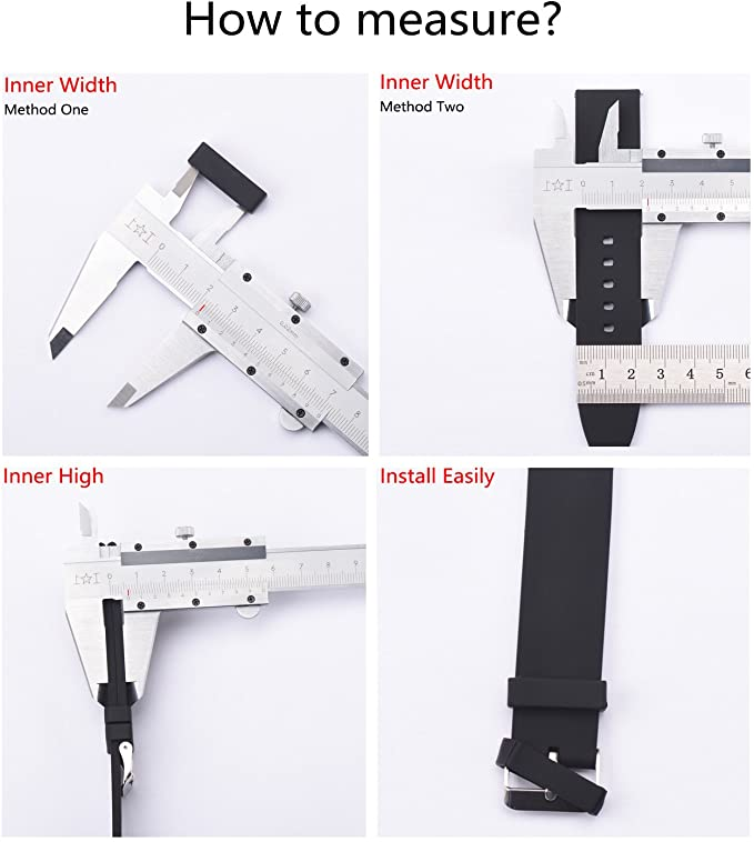 Silicone Watch Strap Loop
