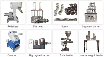 Screw Barrel Extruder