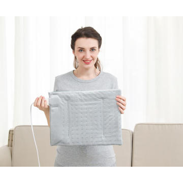 UL Approved PTC NTC Washable Therapeutic Heating Pad With Digital LCD Control Warming Pad