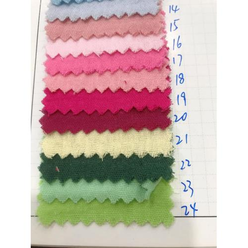 New Product Cotton Double Layer Gauze Fabric