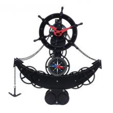 Metal Rudder Gear Desk Clock