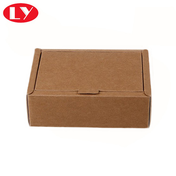 Kraft type paper box for products packaging