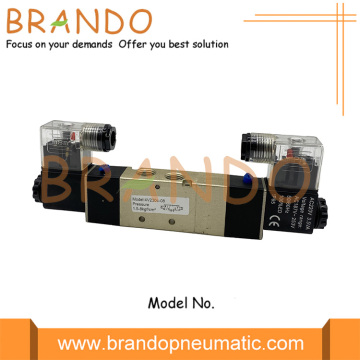 5/3 Way 4V230C-08 Double Solenoid Pneumatic Air Valve