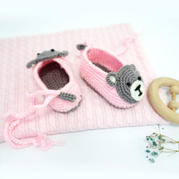 Super Cute Animal Crochet Baby Shoes