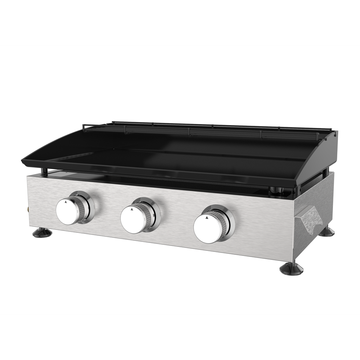 Three Burner Cold-Rolled Steel Gas Griddle Grill