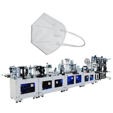 Automatic High Speed 3 Ply Non Woven  Folding Mask Making Machine