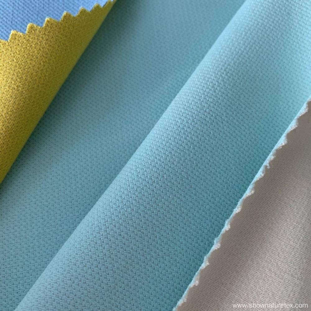 Vicose Polyester Double Fabric