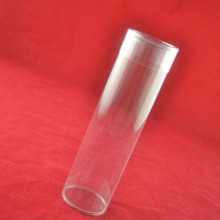 Mini customized sizes plastic clear tube packaging for candy