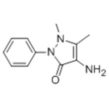 3H-Pyrazol-3-on, 4-Amino-1,2-dihydro-1,5-dimethyl-2-phenyl-CAS 83-07-8