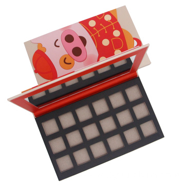Pantone colors printing customized eye shadow paper palettes