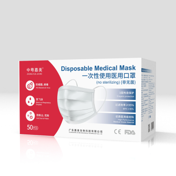 Non-sterile disposable medical masks