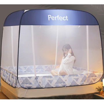 Baby pop-up tent with two doors