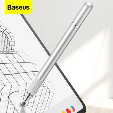 Baseus Capacitive Stylus Pen For iPad Pro 11 12.9 Air 3 Mini Universal Active Screen Touch Pen For iPhone Tablet Android Pencil