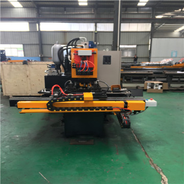CNC Steel Plates Hydraulic Punching Marking Line