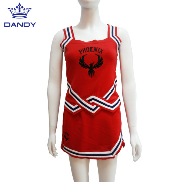 Red College Cheer Costume