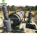 Pyrolysis of Rubber Tyres