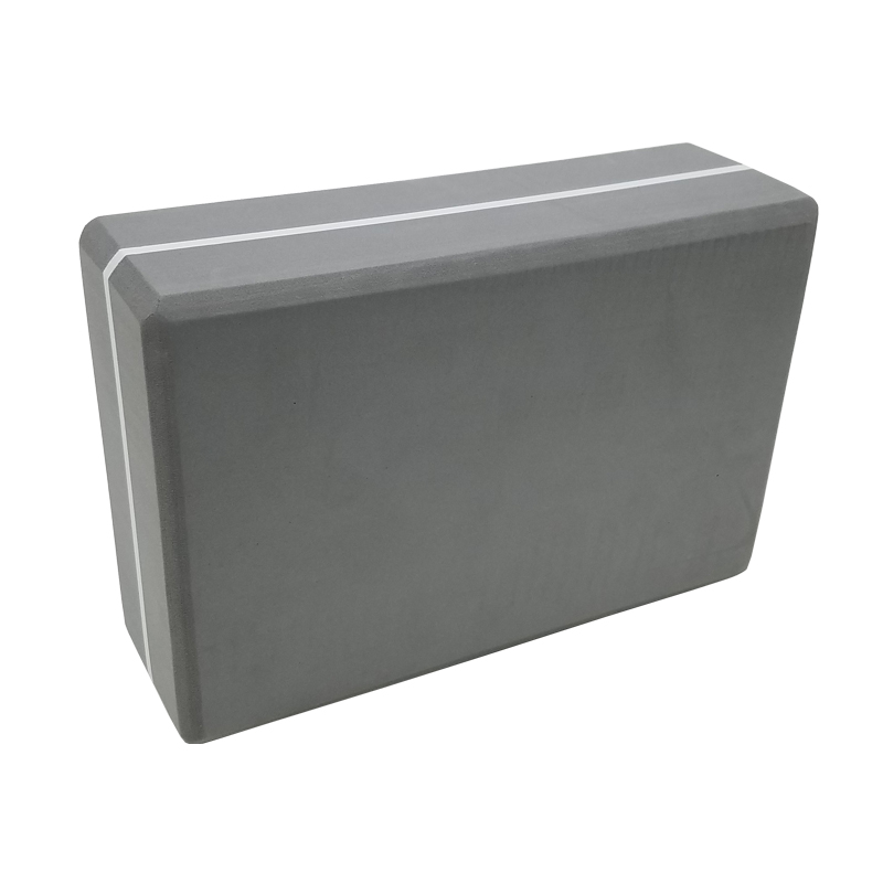 Camouflage Yoga Block Grey