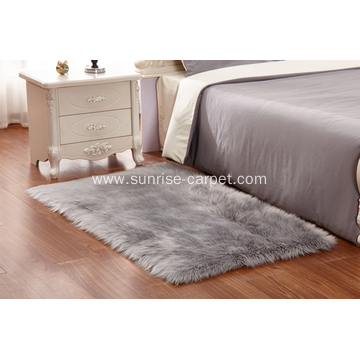 Faux fur flooring carpet for home multi color