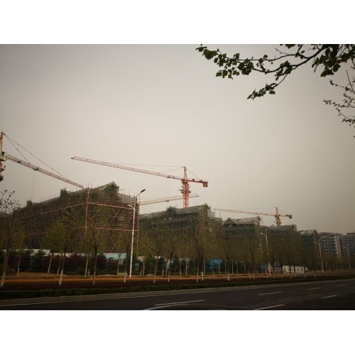 how tower crane increase height