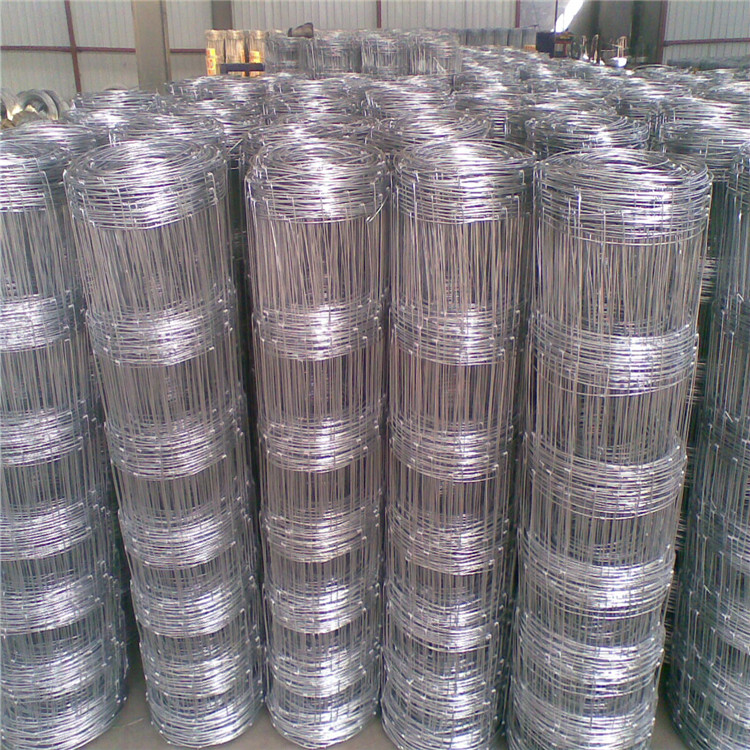 high tensile steel wire mesh cattle field fencing