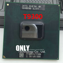Free Shipping CPU laptop Core 2 Duo T9300 CPU 6M Cache/2.5GHz/800/Dual-Core Socket 479Laptop processor for GM45 PM45