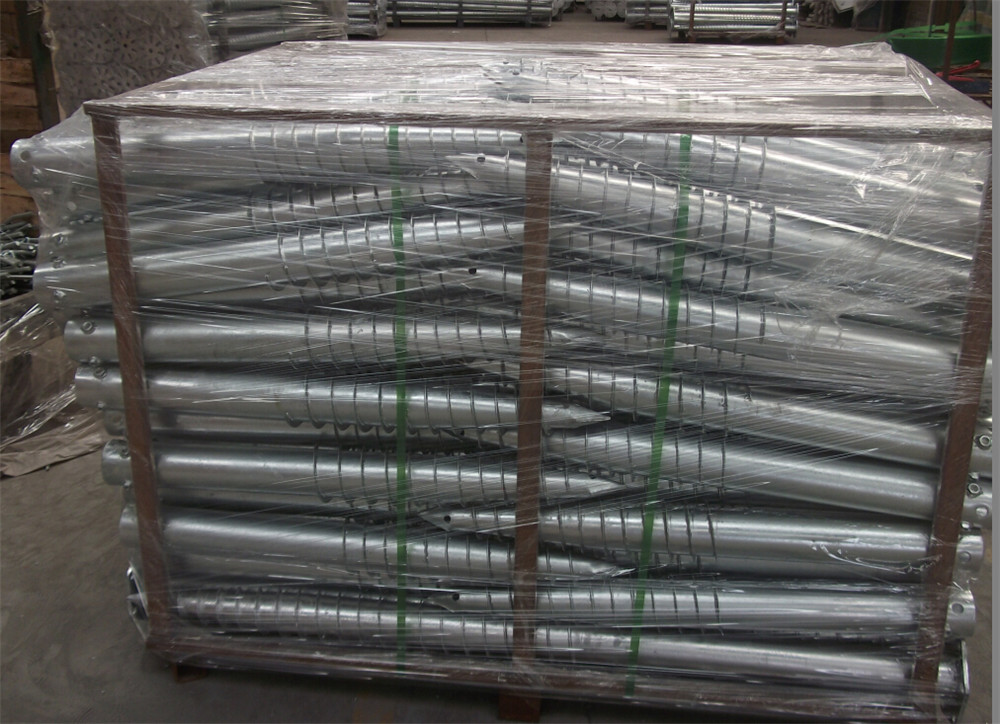 ground screw pile of packing (3)
