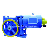 AC220V/60Hz Elevator VVVF Geared Traction Machine