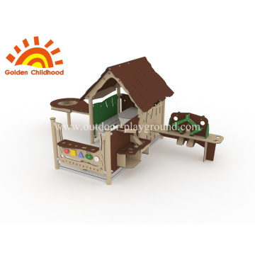 Outdoor Activity Playground Playhouses For Children