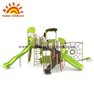 Outdoor Jungle Gym Park Structures Customized Kids