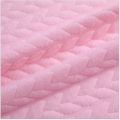 Skin-friendly Pink Air Layer Baby Jacquard Clothing Fabrics