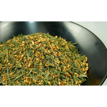 Organic Premium Genmaicha OEM  Brown Rice Tea