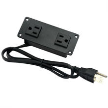 US Dual Power Outlets Strip For Furniture