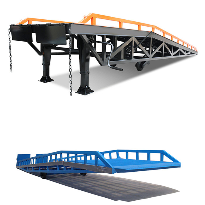 stationary hydraulic dock leveler