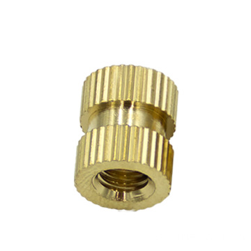 M2 / M3 /M4 Brass outside Knurled Threaded Insert Embedment Female Thread Nuts