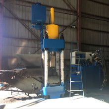 Aluminium Shavings Briquetting Machine With Cubic Block