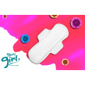 Disposable sanitary napkins of American girls