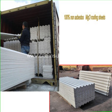 Low-Cost Anti-UV Fire-protection MgO Roofing Sheets
