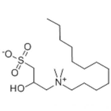 N, N-DIMETHY-N-DODECYL-N- (2-HYDROXY-3-SULFOPROPYL) AMMONIUM BETAINE CAS 13197-76-7