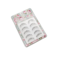 Hot Sale Clear Plastic Glitter Eyelash Packaging Boxes