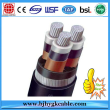 Middle Volta 20kv Aluminum Conductor XLPE Insulated Cable