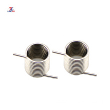 stainless steel double small torsion springs