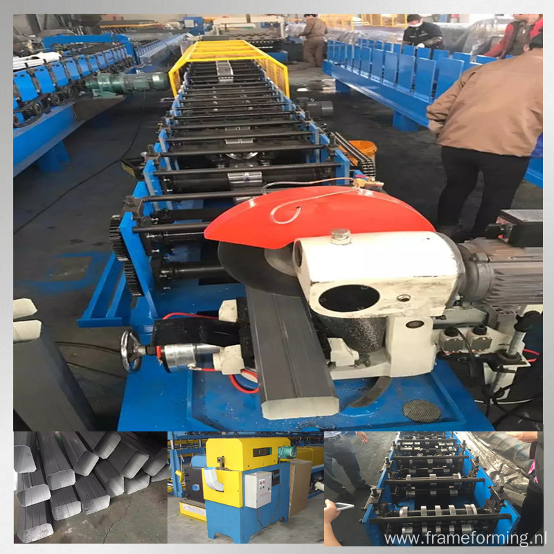 round downpipe rolling machine