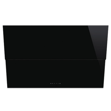 Smeg Extraction Hood Black Tempered Glass