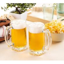 Clear Glass Beer Mug